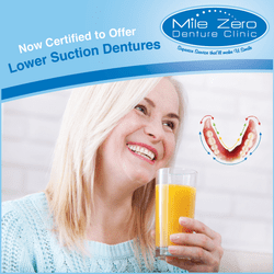 Lower Suction Dentures in Dawson Creek,